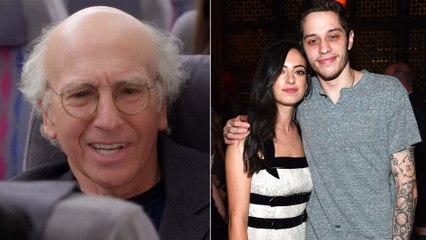 Larry David Had the Most Larry David Response to His Daughter Crying Over Her Breakup With Pete Davidson