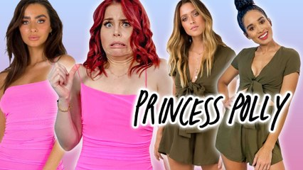 Trying Princess Polly Clothing *our best haul ever?!?*
