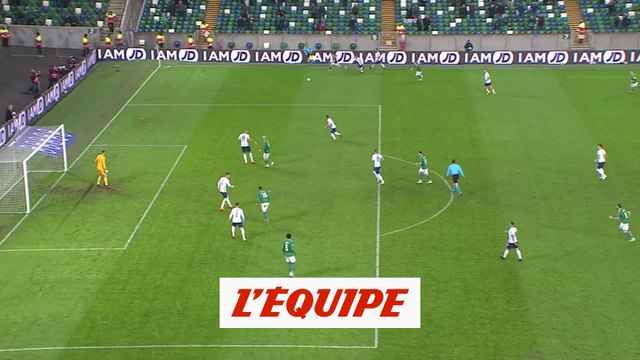 Les buts d'Irlande du Nord-Slovaquie - Foot - Barrage Euro