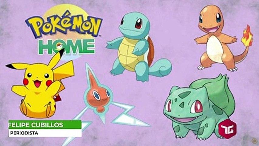 ¿Cómo transferir Pokémon desde Pokémon GO a Pokémon Home?