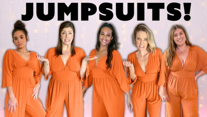 5 Women Try The Same Jumpsuit! All Under $60!