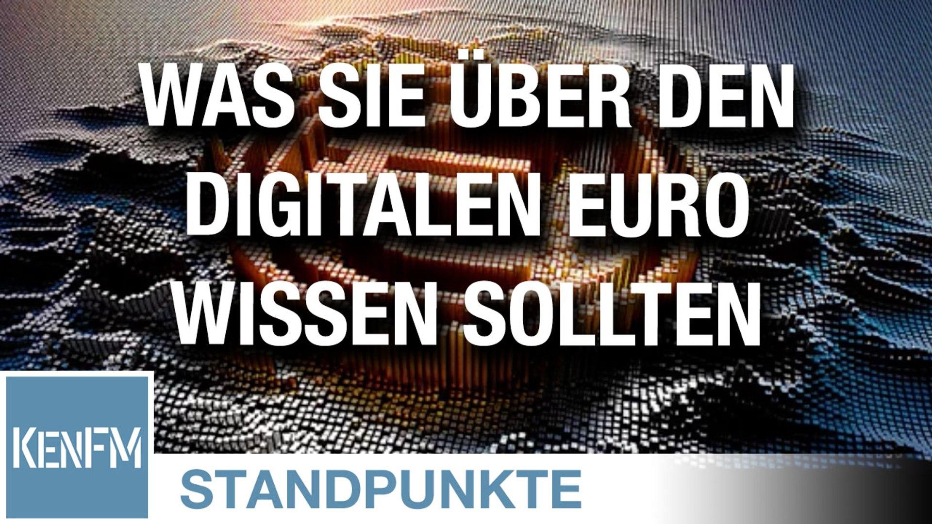 Was sie alles über den digitalen Euro wissen sollten, um sich davor zu fürchten   Von Norbert Häring