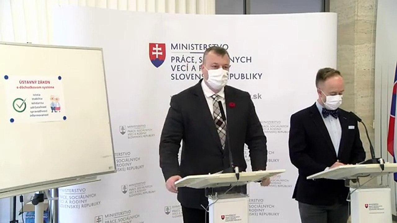 ZÁZNAM: TK ministra práce, sociálnych vecí a rodiny SR Milana Krajniaka