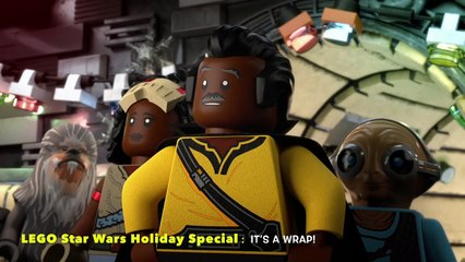 LEGO Star Wars Holiday Special It's a Wrap!