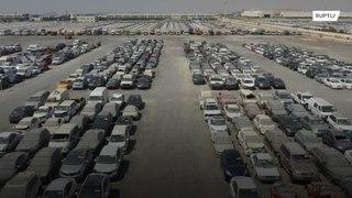دبي: سيارات مهجورة, لكنها فارهة !!!