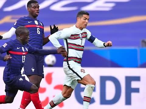 Portugal - Ronaldo, muet contre les Bleus