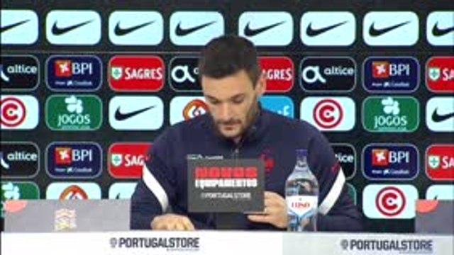 """Ligue des Nations - Lloris : """"Un  match très serré face au Portugal"""""""