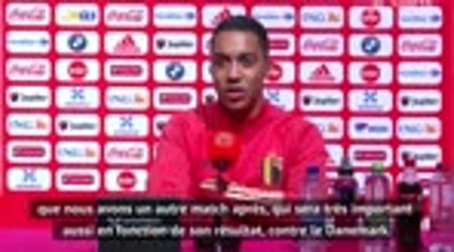 """Belgique - Tielemans : """"Deux matches de haut niveau"""""""