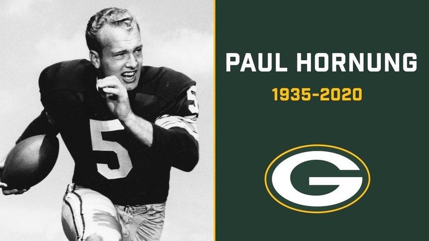 Paul Hornung star of the 1960s Packers dies at 84