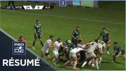 PRO D2 - Résumé US Montauban-Provence Rugby: 30-15 - J6 - Saison 2020/2021