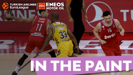 In the Paint – The sights and sounds of Olympiacos rallying to beat ALBA
