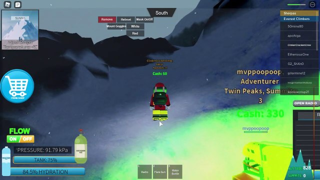 Mount Everest Climbing Roleplay at Roblox