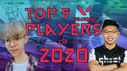 Top 5 NA Valorant Players of 2020