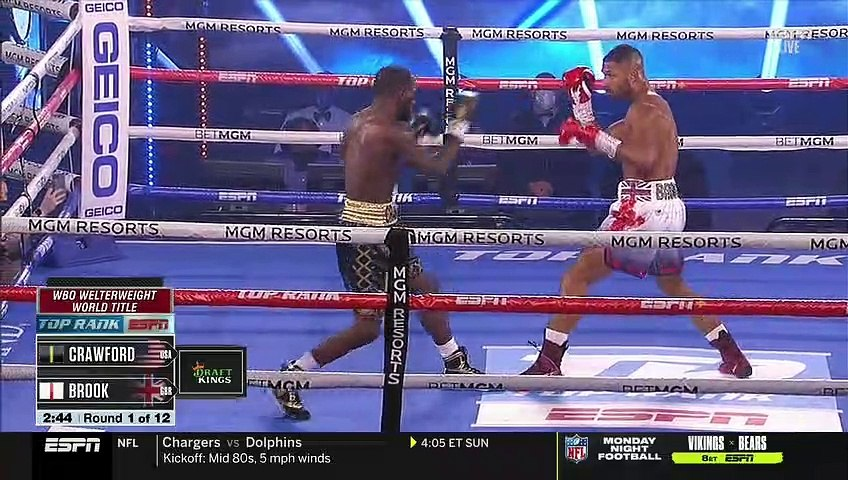 Terence Crawford vs Kell Brook (14-11-2020) Full Fight