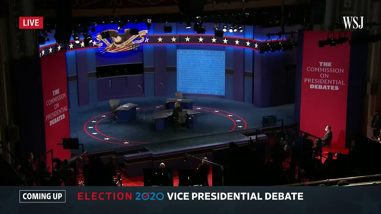 Full Debate – Vice President Mike Pence and Sen. Kamala Harris _ WSJ