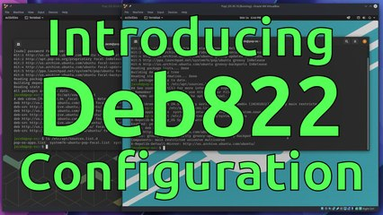 Easier Apt Configuration with Deb822
