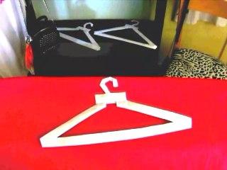Origami Clothes Hanger - Make a paper Clothes Hanger