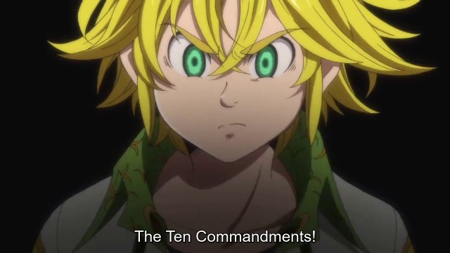 The Seven Deadly Sins  Season 3 - The Seven Deadly Sins Revival of The Commandments