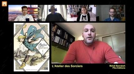 Morning Manga part 2 Mehdi Benrabah de Pika Editions