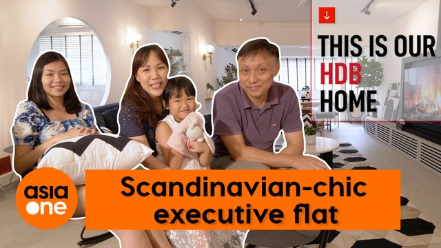 This is Our HDB Home: Scandinavian-chic 3-Generation Executive Flat