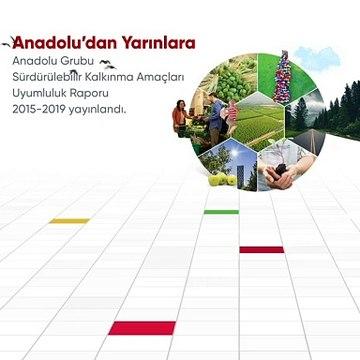 Anadolu'dan Yarınlara Sürdürülebilir Kalkınma Amaçları Uyumluluk Raporu 2015-2019