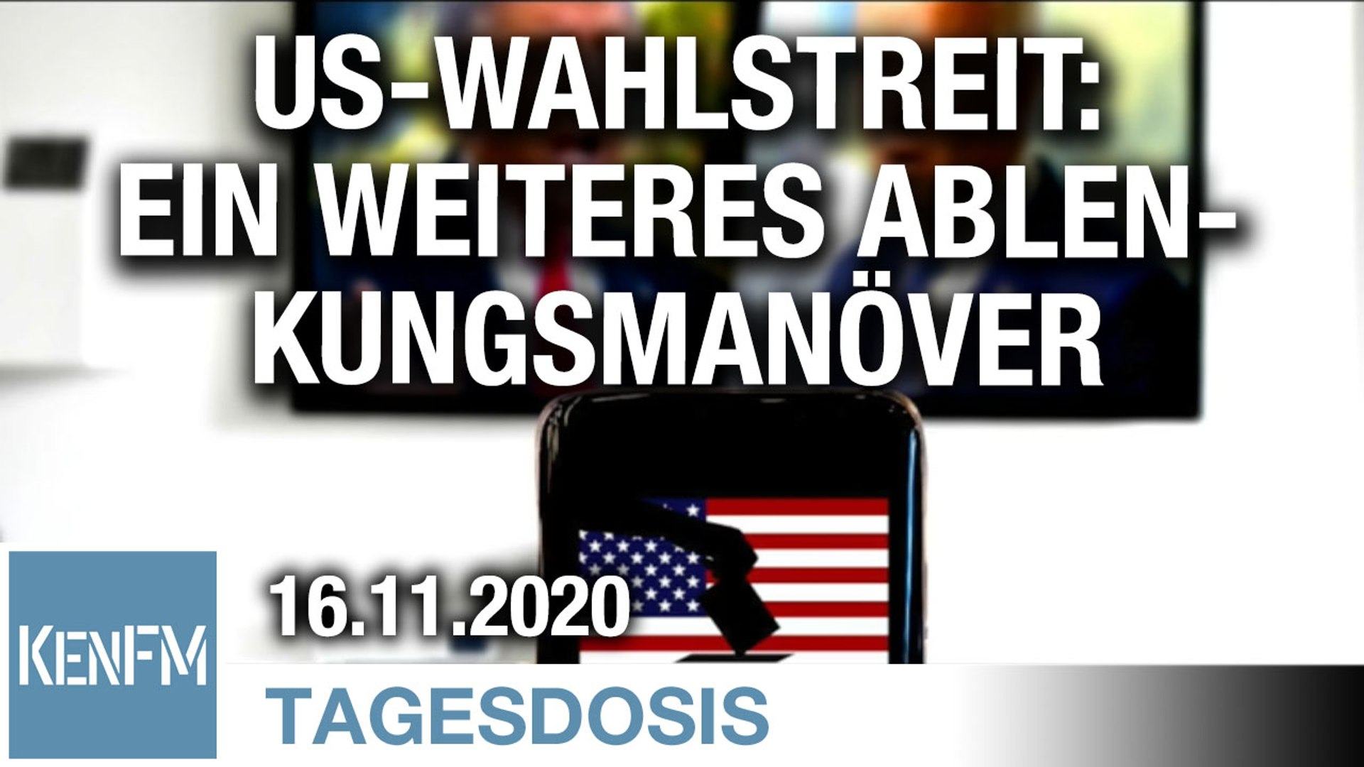 US-Wahlstreit: Ein weiteres Ablenkungsmanöver | Von Ernst Wolff