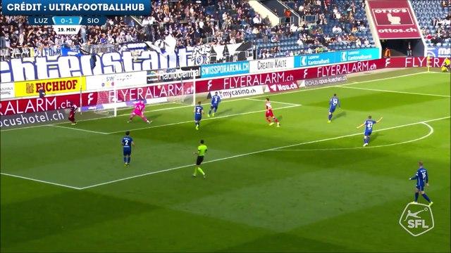 Les buts de Seydou Doumbia avec le FC Sion