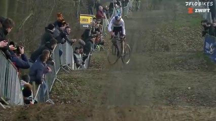 Mathieu van der Poel vs Tom Pidcock Cyclocross Skills Competition