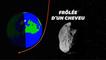 Un astéroïde inconnu a frôlé (vraiment frôlé) la Terre