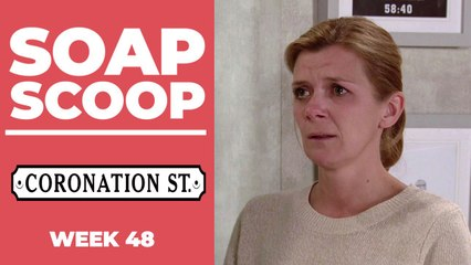 Coronation Street Soap Scoop - Leanne and Steve devastated as Oliver dies