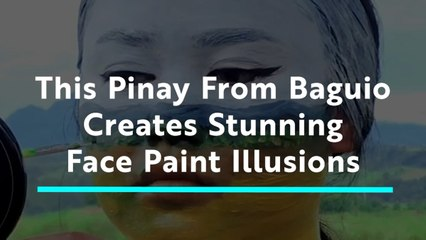 Makeup Artist from Baguio Creates Incredible Face Paint Illusions
