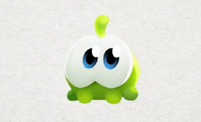 Om Nom Stories: How to Draw Small Om Nom from Cut the Rope Magic - Funny cartoons for kids