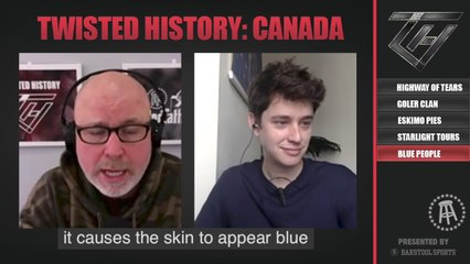 Grandpa Fugate blue his whole family on this week's Twisted History of Canada!
