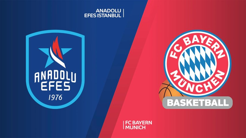 Anadolu Efes Istanbul - FC Bayern Munich Highlights | Turkish Airlines EuroLeague, RS Round 9