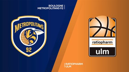 7Days EuroCup Highlights Regular Season, Round 8: Metropolitans 72-65 Ulm
