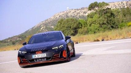Audi RS e-tron GT Prototype Design Preview