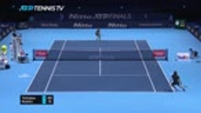 Tsitsipas saves match point to keep ATP Finals hopes alive