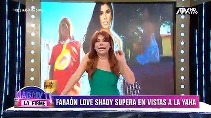 Faraón Love Shady supera en vistas a Yahaira Plasencia en Youtube