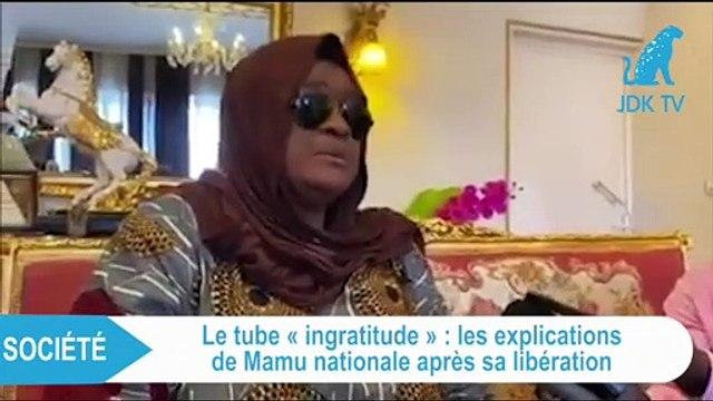 LA CHANTEUSE TSHALA MUANA S'EXPLIQUE APRÈS SA LIBÉRATION