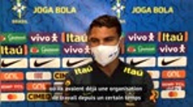 """Brésil - Thiago Silva : """"Merci à Lampard pour la confiance accordée"""""""