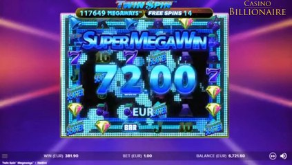 524 - INDIA - TWIN SPIN MEGAWAYS SLOT GAME REVIEW - PROMO VIDEO