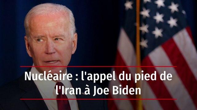Nucléaire : l'appel du pied de l'Iran à Joe Biden
