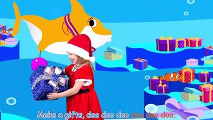 Baby Shark Christmas Song for Kids - Sing & Dance with Santa Shark