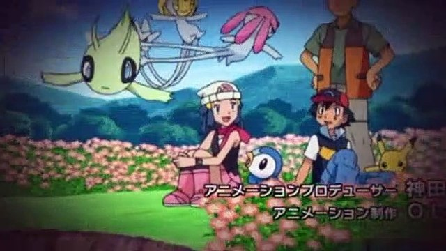 Pokemon S13E34 Memories Are Pearls! Friendships Are Diamonds!!