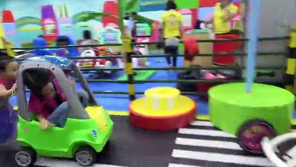 Indoor playground for kids at play are with Funny kids Have a fun day- ABCkidtv Misa
