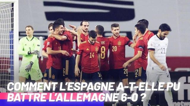 La raison pour laquelle l'Espagne a EXPLOSE l'Allemagne 6-0 | Oh My Goal
