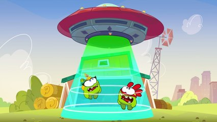 Om Nom Stories: Super-Noms - UFO - Funny cartoons for kids