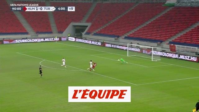 Les buts de Hongrie-Turquie - Foot - Ligue des nations