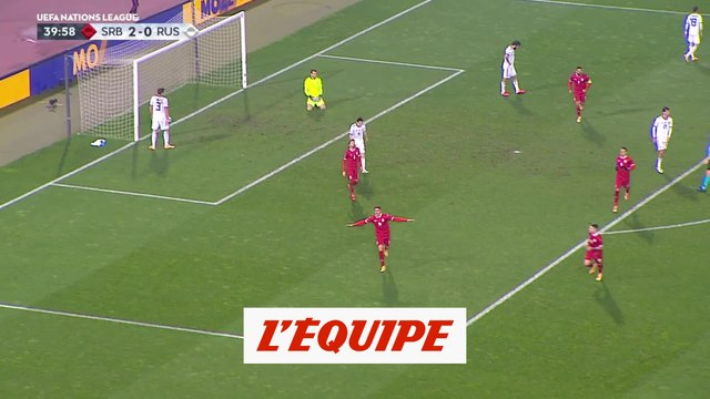 Les buts de Serbie-Russie - Foot - Ligue des nations
