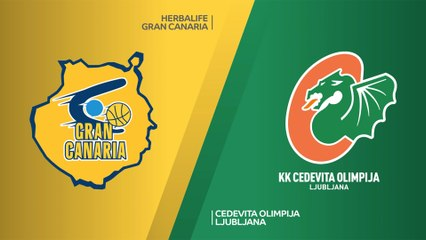 7Days EuroCup Highlights Regular Season, Round 8: Gran Canaria 90-82 Olimpija